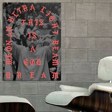 Poster Mural Kanye West Madison Square Garden 35x47 inch (90x120 cm) on Canvas