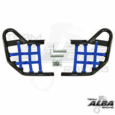 Yamaha YFZ 450R YFZ450R   Nerf Bars   Alba Racing     Black/Blue 251-T1-BL