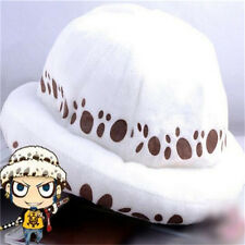 FD4140 Anime One Piece Trafalgar Law Hat Cosplay Plush Cap Two Years Later Hat♫