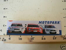 STICKER,DECAL MOTOPARK VODAFONE BLAUPUNK AUDI,OPEL, MERCEDES DUNLOP LARGE