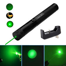 Hot New 532nm 5mw 303 Green Laser Pointer Lazer Light Pen Beam+Charger Modish Q