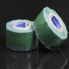 Self Fusing Silicone Performance Repair Tape Bonding Rescue Wire Hose Tape Green