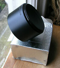 58mm telephoto metal lens hood made in japan 65 x 37