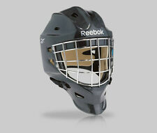 New Reebok 9K Pro hockey goal mask senior medium black RBK mens sr goalie helmet
