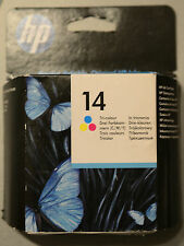 (PRL) HP 14 ORIGINALE CARTUCCIA INCHIOSTRO INK CARTRIDGE TRI COLOUR C5010DE EXP