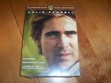 COLIN FARRELL SUPERSTAR COLLECTION American Outlaws Alexander 3 DVD SET NEW