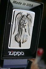 Gruseliges ZIPPO Death Angel Todesengel PLATTE CHROM Genial