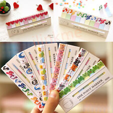 Cute Cartoon Animals Sticker Post It Bookmark Point It Marker Memo Sticky Notes