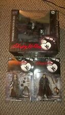 McFarlane Sleepy Hollow Headless Horseman Lot Deluxe Boxed Set, Crone, & Walken