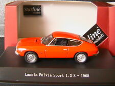 LANCIA FULVIA 1.3S 1968 RED ITALIA STARLINE 560221 1/43 ROSSO ROT ROUGE ITALIE