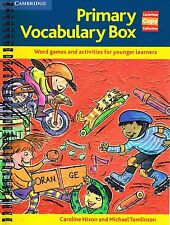 CAMBRIDGE COPY COLLECTION Primary Vocabulary Box WORD GAMES & ACTIVITIES @NEW@