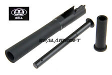 Bell V12 Metal Outer Barrel For Bell Marui Army Hi-Capa 5.1 Black BELL708QG1-BK