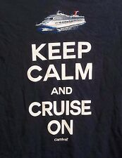 Carnival Cruise Line Keep Calm And Cruise On T-Shirt Adult M Medium