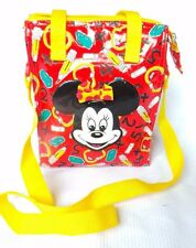 Disney Minnie Mouse Insulated Lunch Bag Shoulder Strap New Red