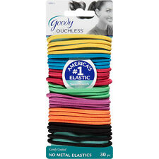 Goody Ouchless No Metal Elastics, Candy Coated, 30 count