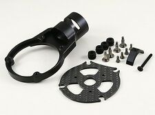 25mm CNC Tube AntiVibe Motor Mount Black Fits S1000, S1100 and all of 25mm tube