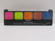 NYX Glitter Cream Palette color GCP02 Eden Brand New & Sealed