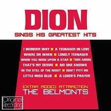 Dion Dion's Greatest Hits (New CD 2013) Original Recording 5050457127329