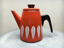Catherineholm Orange Coffee Tea Pot Kettle Mid century Vintage Retro