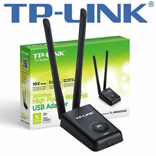 TP-LINK TL-WN8200ND 300MBit/s-High-Power-USB WLAN-Adapter - 5dBi-RP-SMA-Antennen