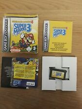 SUPER Mario Advance 4 Super Mario Bros 3 Gameboy Advance GBA