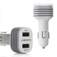 Dual USB Port Universal USB Fast Rapid Adapter Car Charger