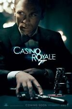 CASINO ROYALE POSTER - JAMES BOND - NEW 24X36 TEASER