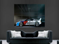 BMW M1 CLASSIC SPORT CAR RACING   ART HUGE GIANT POSTER PRINT