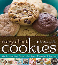 Crazy About Cookies, Krystina Castella, New Book