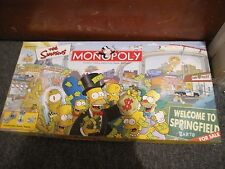 The Simpsons Monopoly Edition by Parker Brothers