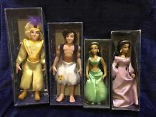 Lot of 4 Deagostini Disney Porcelain Doll Figures - Aladdin & Jasmine
