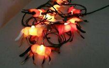 10 Horse Party Lights Set/string Holiday Christmas Lights farm animals pony blow