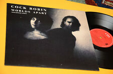 "COCK ROBIN 12"" WORLDS APART ORIG HOLLAND 1989 NM !"