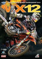 MX12 Motocross World Championship - Official review 2012 (New 2 DVD set) NTSC