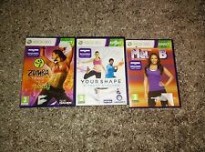ZUMBA FITNESS + Your Shape +  Lets get fit Mel B - XBOX 360 Kinect