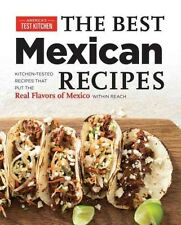 Best Mexican Recipes by America's Test Kitchen Paperback Book (English)