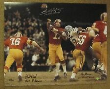 Billy Kilmer 72 Redskins NFC Championship Game 16x20 Multi Signed LE Hauss Rock