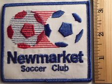 NEWMARKET SOCCER CLUB PATCH (SOCCER BALL)