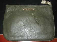 """Rebecca Minkoff  Cory Pouch """"Work Hard, Play Hard"""" in Hunter Green *pre-owned*"""