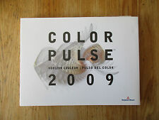 Color pulse Horizon couleur Pulso del color 2009 Benjamin Moore Color specimens