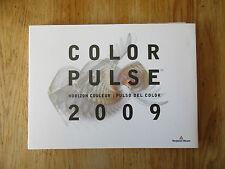 Color pulse Horizon couleur Pulso del color 2009 Benjamin Moore Color specimens