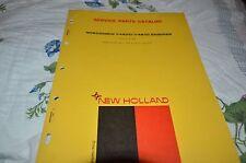 New Holland V460D V461D Wisconsin Engine Dealer's Parts Book Manual DCPA5