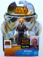 "STAR WARS - SAGA LEGENDS - CLONE WARS - PLO KOON - 3.75"" Action Figure - MOC"