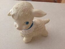 Vintage Edward Mobley squeek lamb baby toy