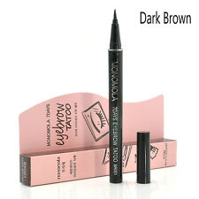 Pro Brown 7 Days Eyebrow Tattoo Pen Liner Long Lasting Eye Makeup Cosmetic New