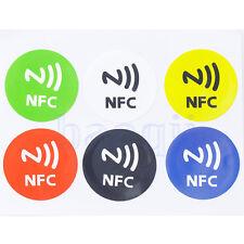 6 NFC Tags Etiquette Autocollant Sticker Etanche Pr MX3 Galaxy S4 Sony lumia HG
