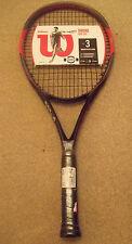 WILSON DRONE racchetta da tennis Pro 105 attrezzature sportive Accessorio Squash Brand GR 3