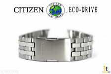 Citizen Eco-Drive H820-S087104 23mm Stainless Steel Watch Band AT9010-52E