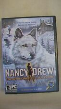 Nancy Drew The White Wolf of Icicle Creek PC CD-Rom Game