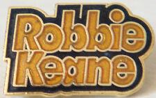 WOLVERHAMPTON WANDERERS FC ROBBIE KEANE Badge Brooch pin In gilt 21mm x 13mm